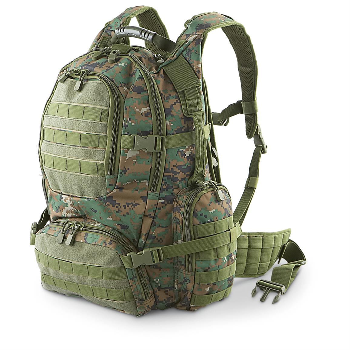 Fox Tactical® Field Ops Pack, Digital Woodland