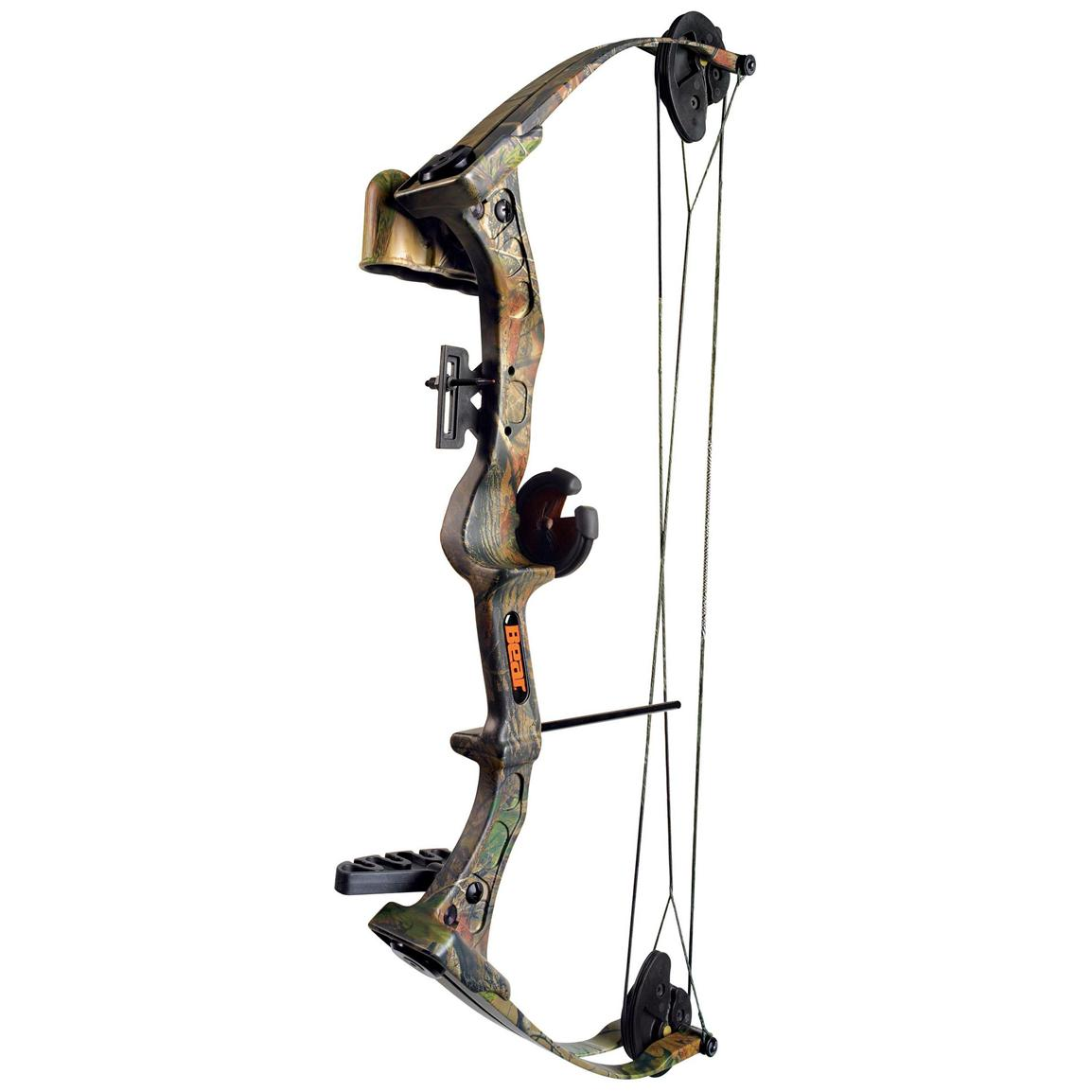 Fred Bear® Warrior III Compound Bow Set with Whisker Biscuit