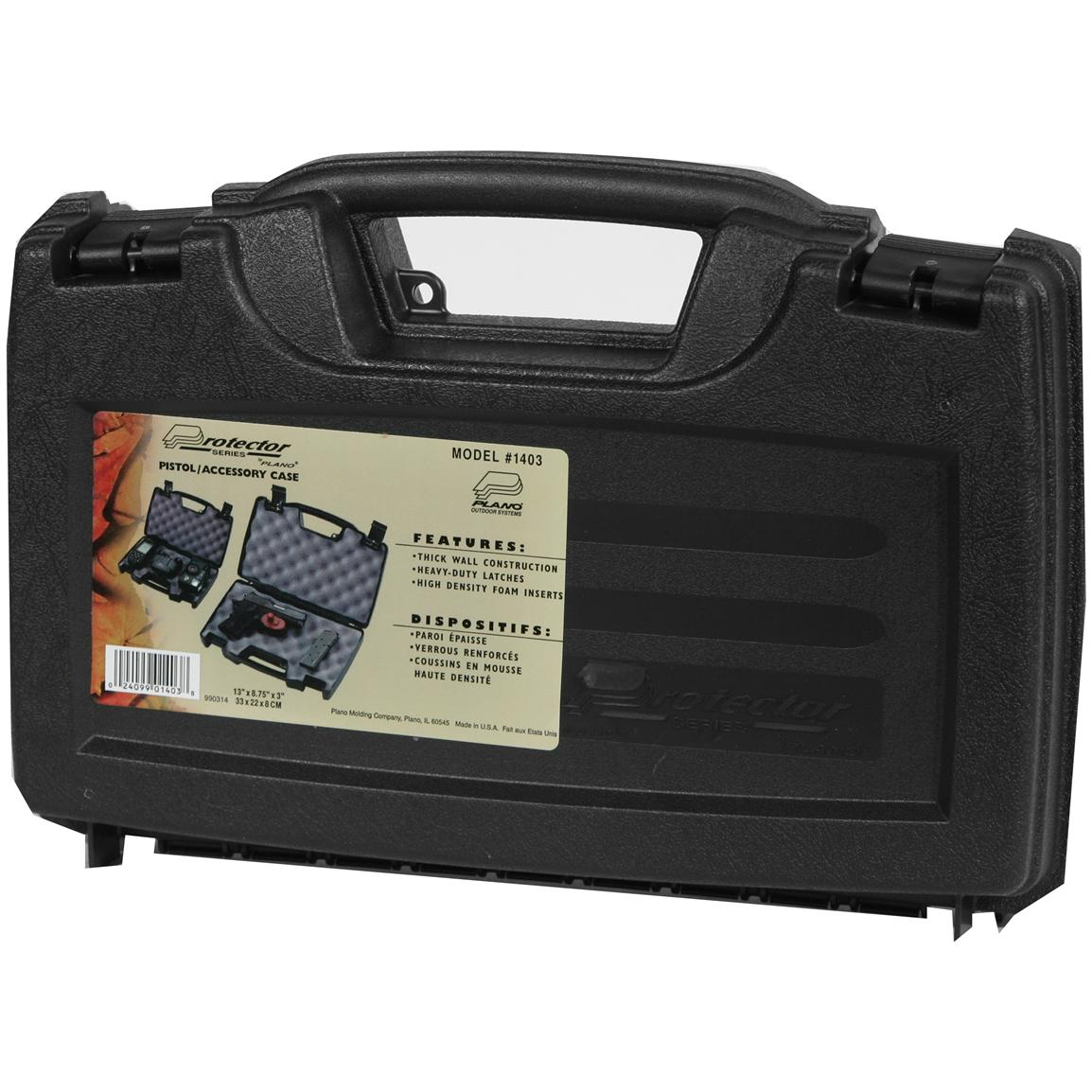Swiss Arms Protector Hard Side Gun Case for Pistols