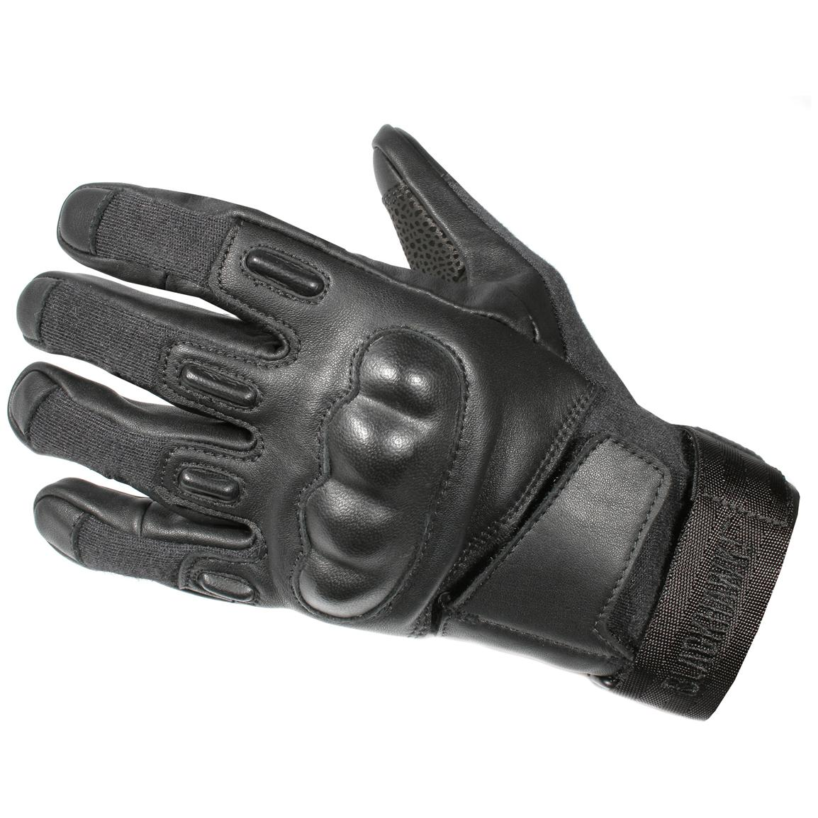 Blackhawk!® S.O.L.A.G. HD Gloves with Kevlar®, Black