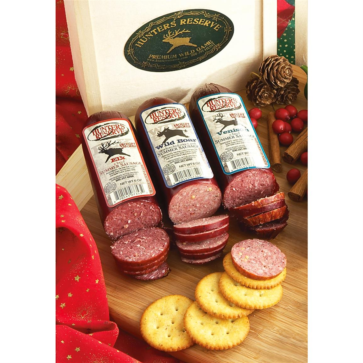 Hunters Reserve™ Wild Game Sausage Gift Box