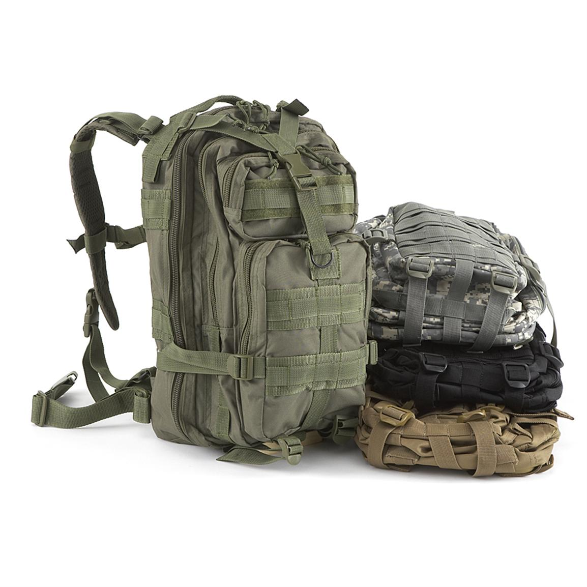 Elite First Aid® 230-Pc. Tactical Trauma #3 First Aid Backpack