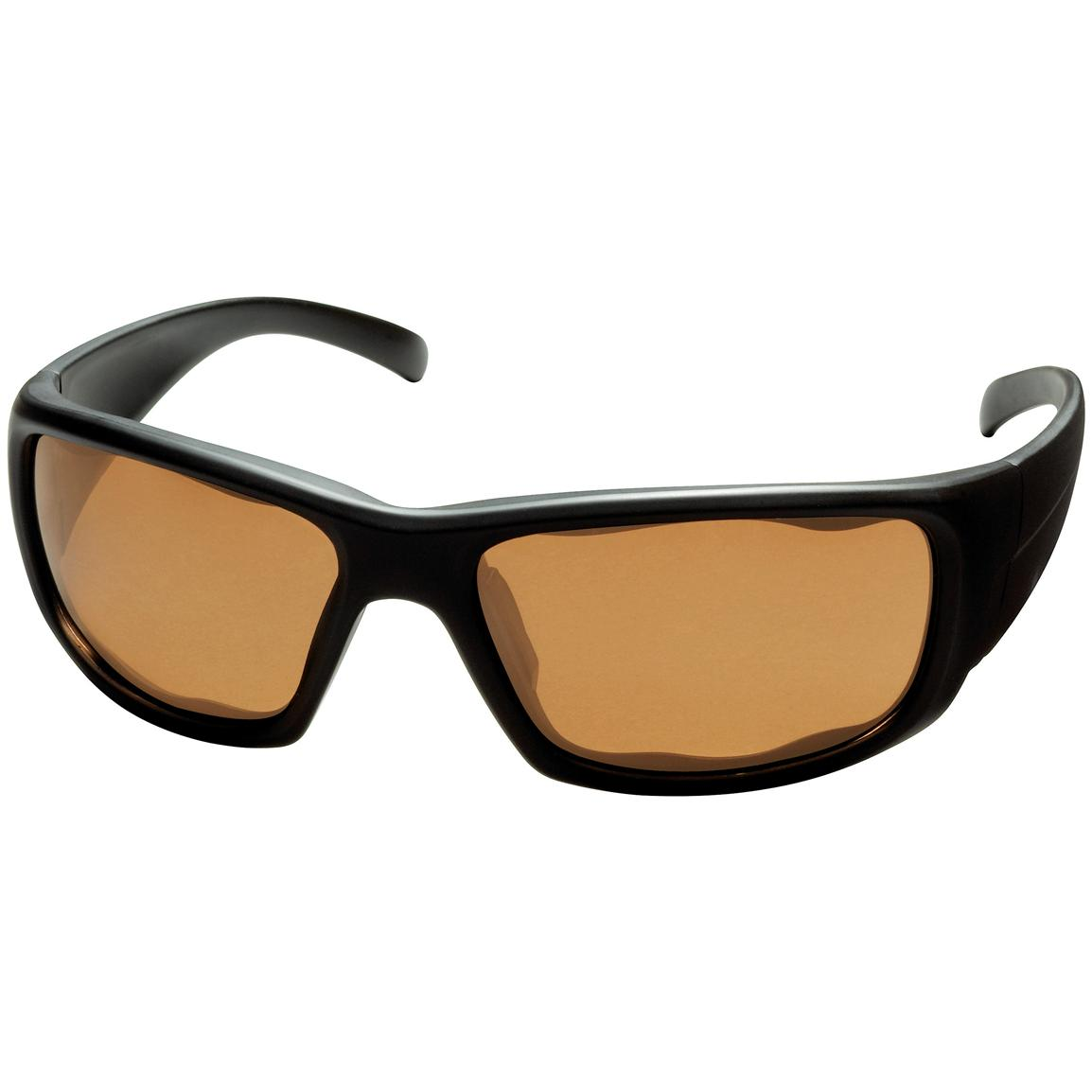Men's Pepper's® Searchlight Polarized Sunglasses, Black / Copper Rose