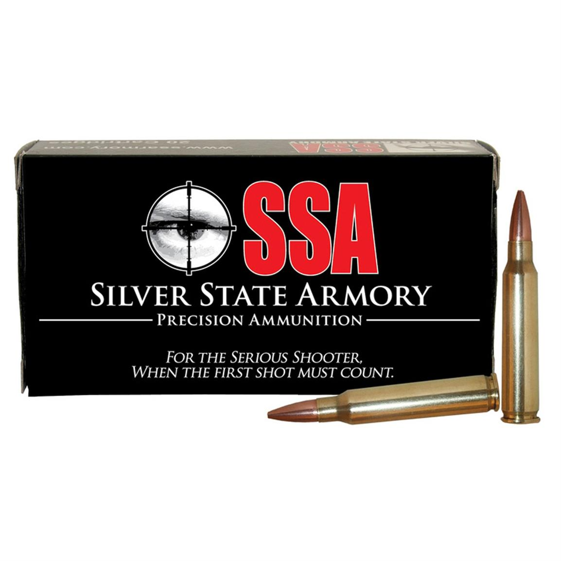 SSA® .223 (5.56x45mm) Barnes® Lead Free Jktd. Frangible 55 Grain 20 rounds