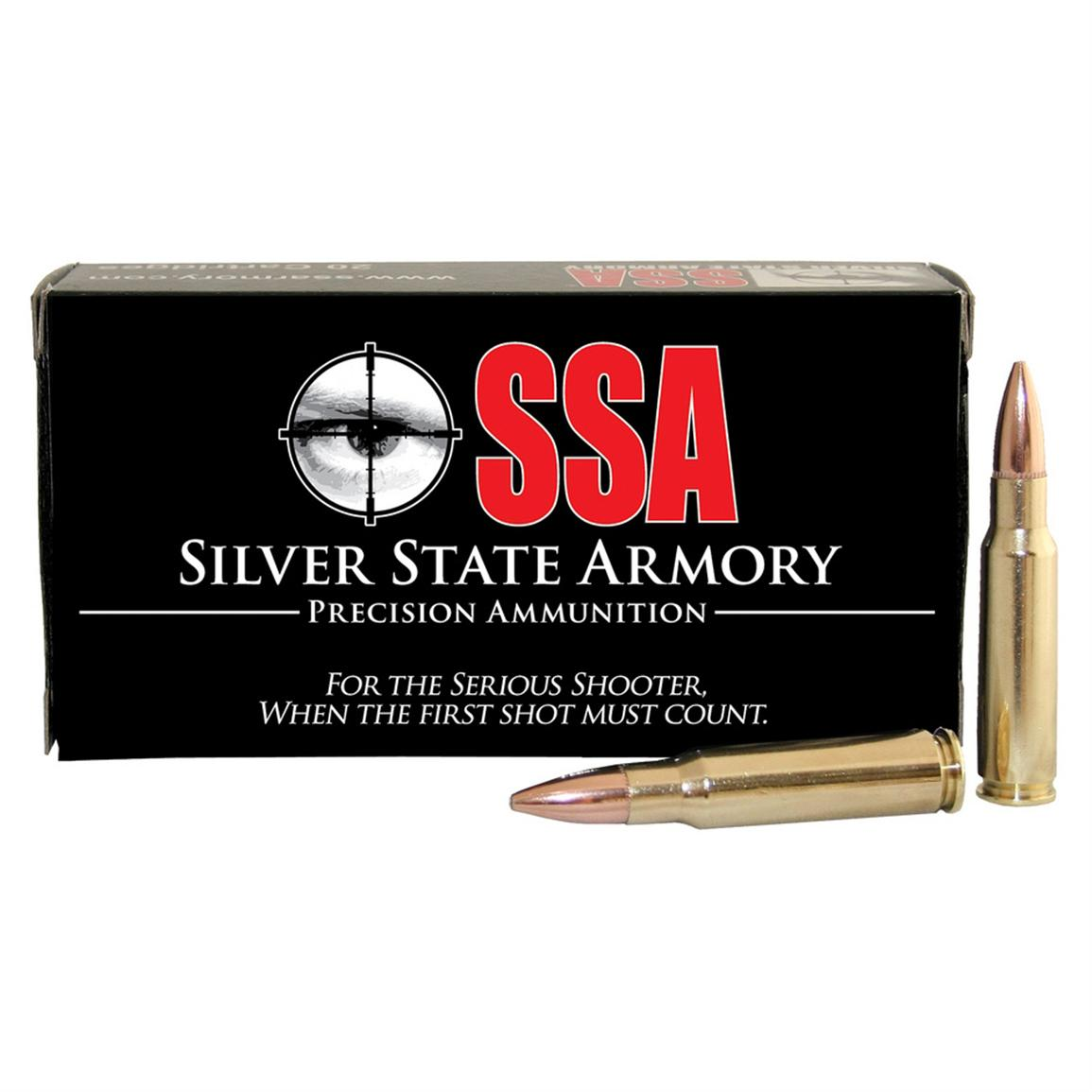 Silver State Armory® 6.8 SPC Ammo