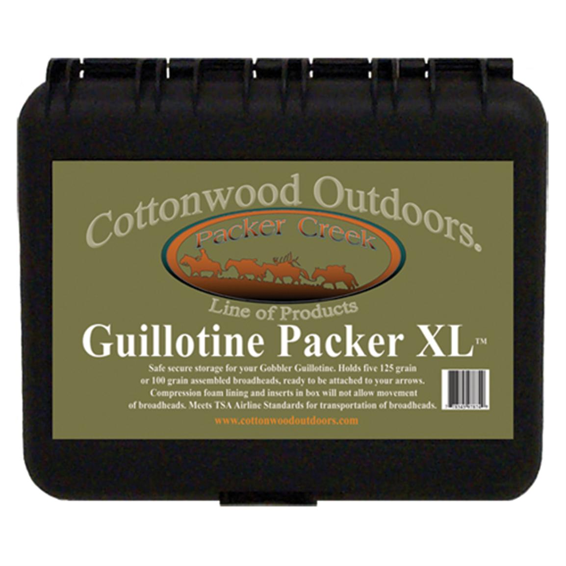 Cottonwood Outdoors® Guillotine XL Packer Box