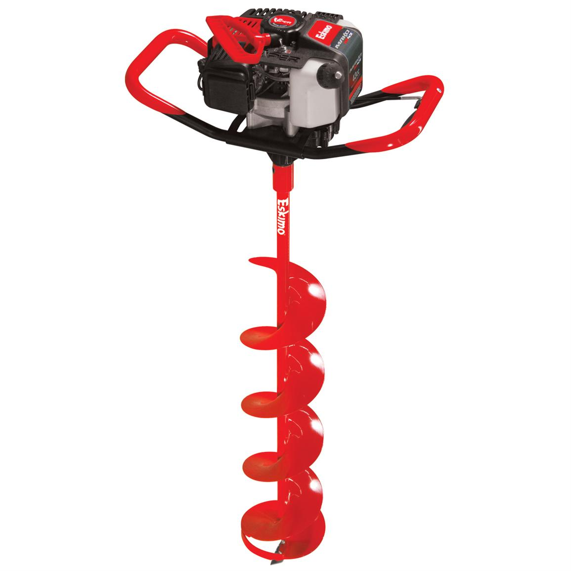 Eskimo mako quantum ice auger 191273 ice augers at for Ice fishing augers