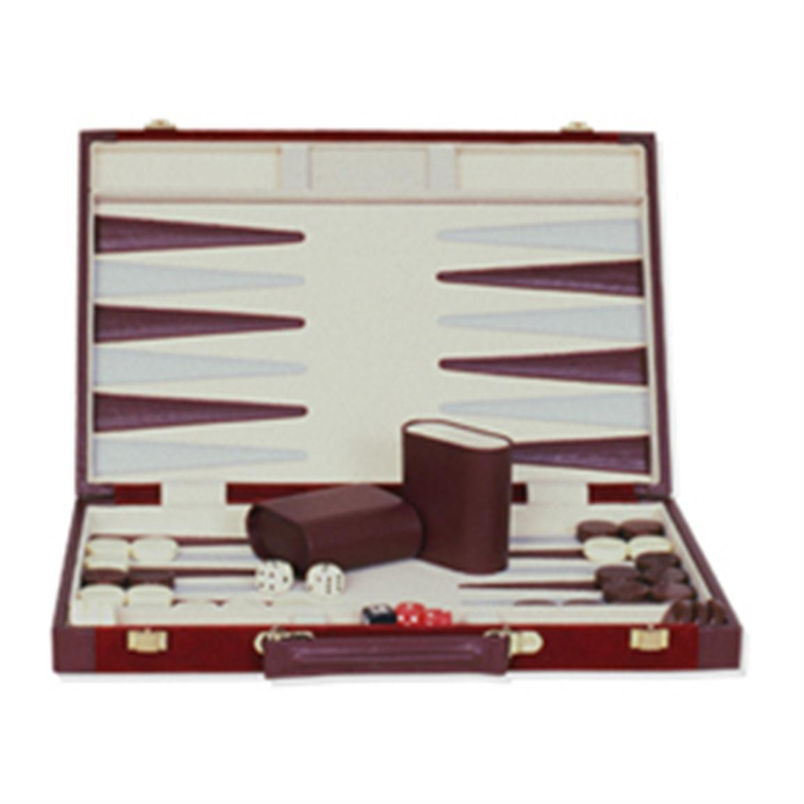 Sterling Games® 10 inch Backgammon Set