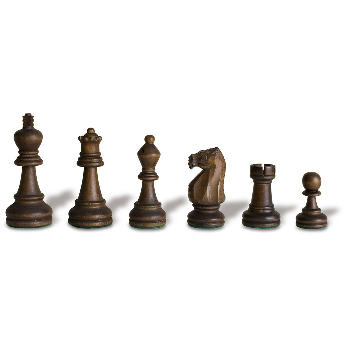 Sterling Games® Double Weight Wood Chessmen
