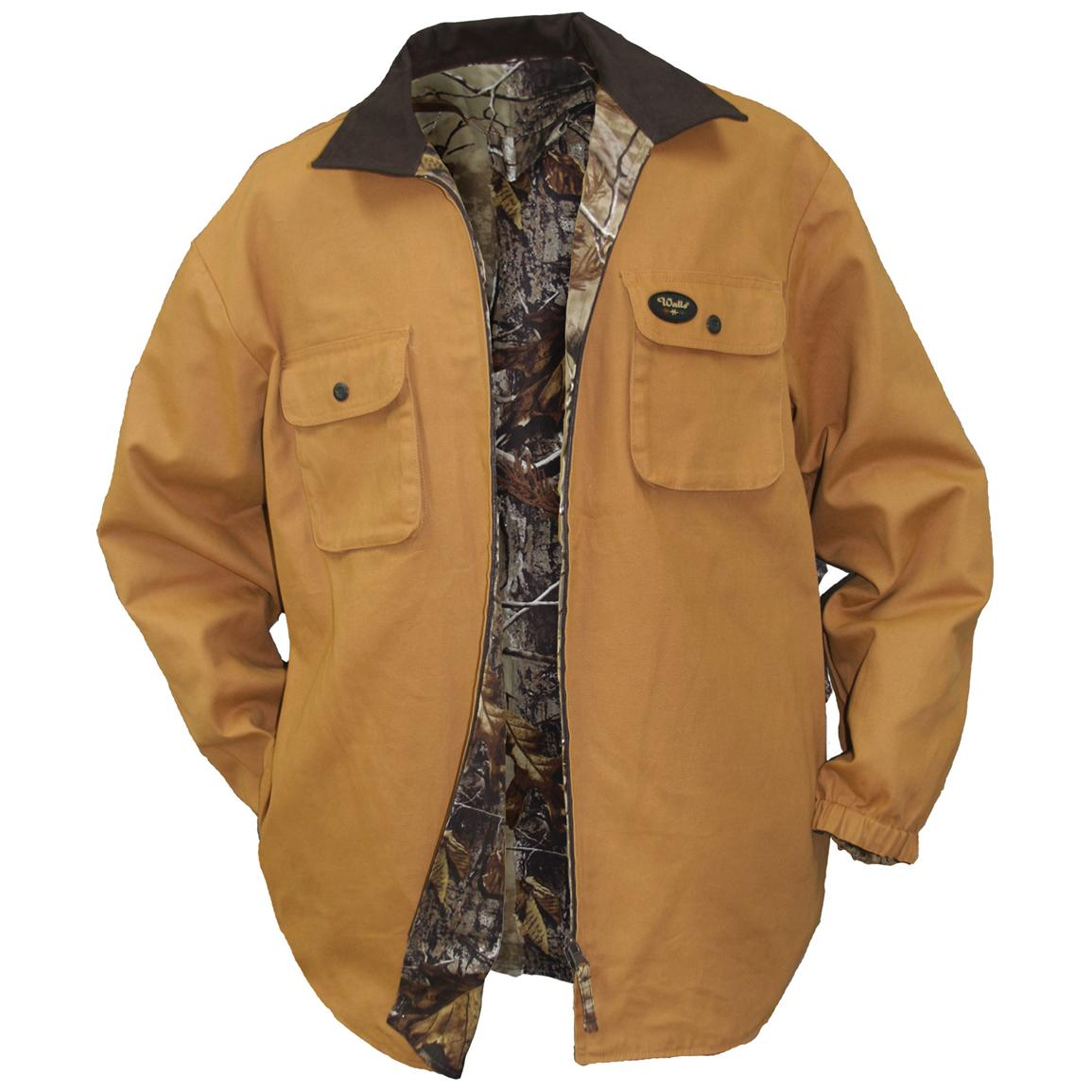 Men's Walls Reversible Shirt Jacket - 191790, Insulated Jackets ...