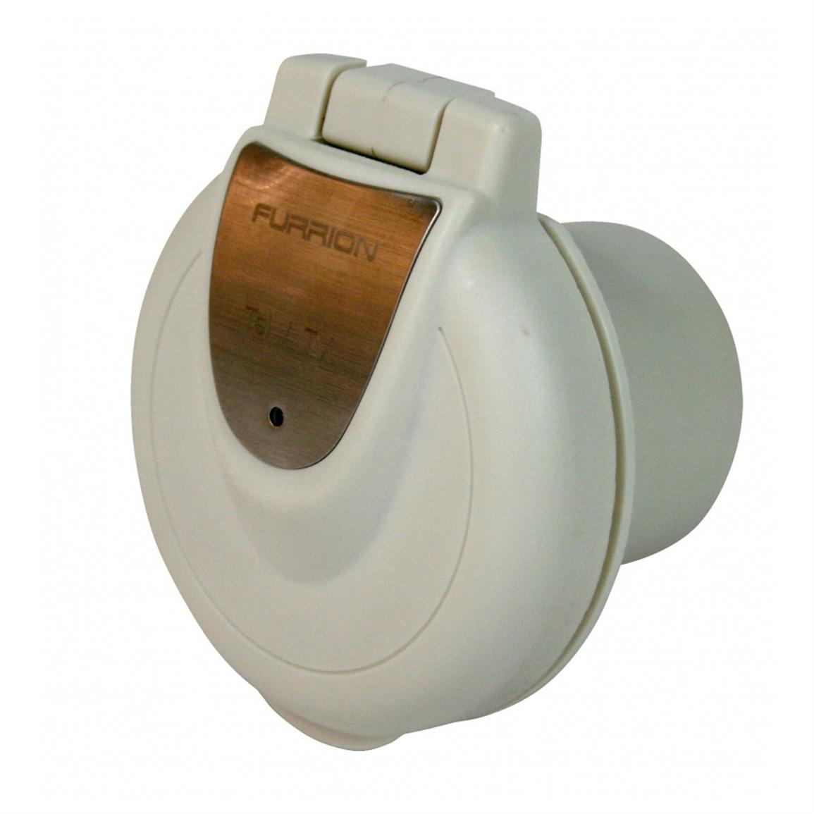 Furrion® 30A Round Power Inlet