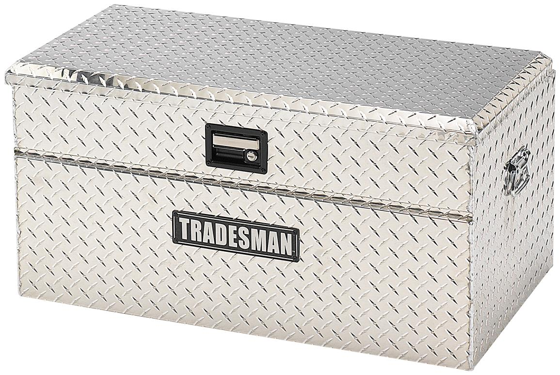 Tradesman® Aluminum Mid Size Flush Mount Truck Tool Box, Bright
