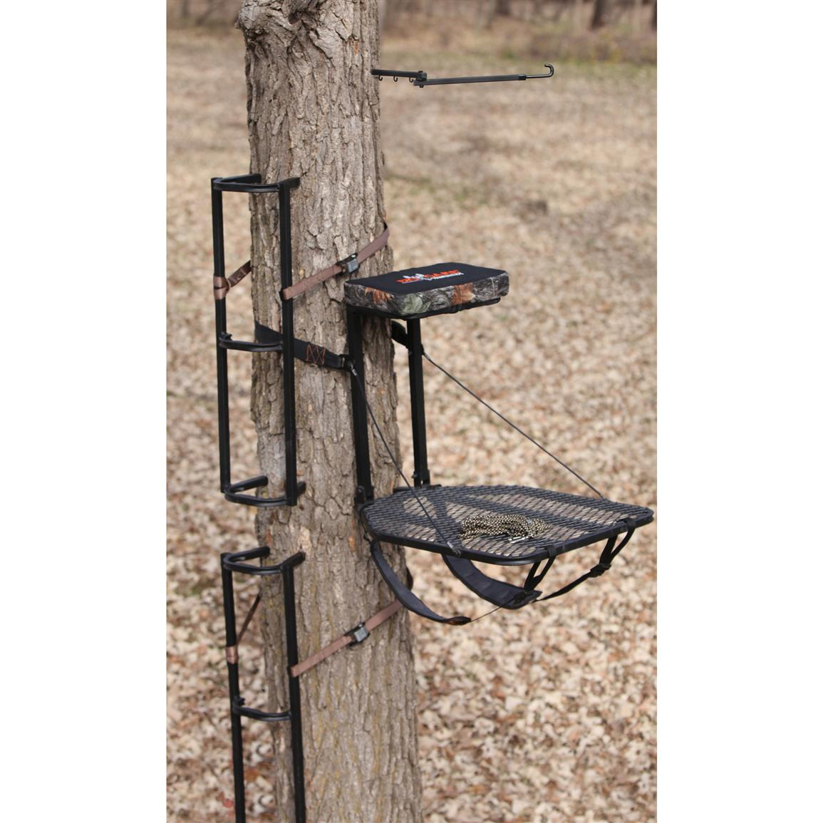 Big Game® Boss Lite™ Packable Tree Stand / Steps Combo