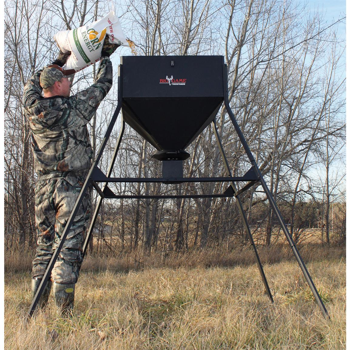 Big Game® 450-lb. Standing Game Feeder