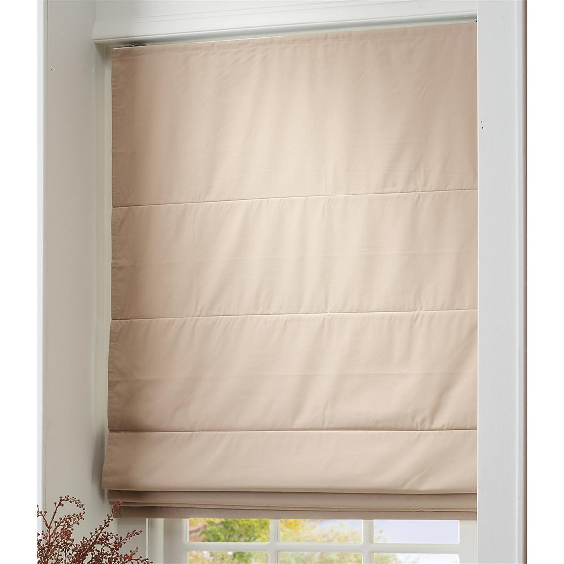 Cord Free Roman Shade 193204 Curtains At Sportsman S