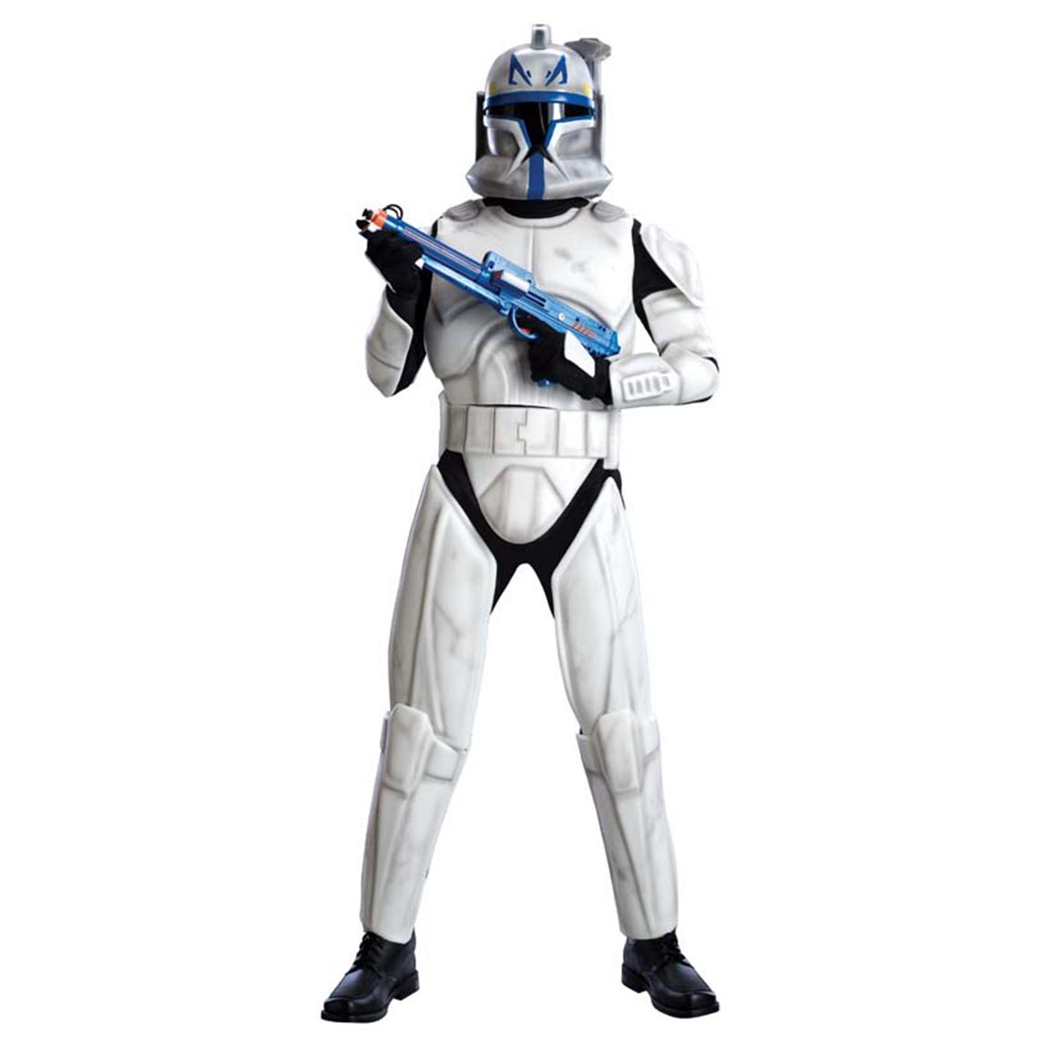 Morris Costumes Star Wars™ Clone Wars Deluxe Clonetrooper Leader Rex Costume