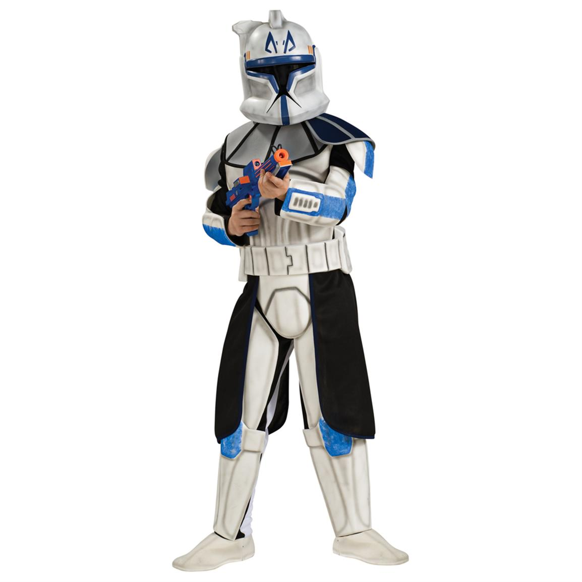 Morris Costumes Star Wars™ Clone Wars Deluxe Child's Clonetrooper Leader Rex Costume