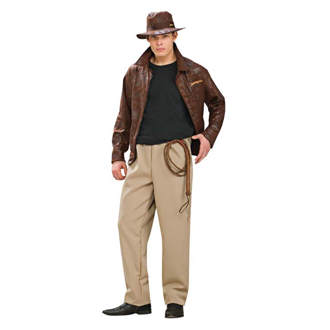 Morris Costumes Indiana Jones Deluxe Costume