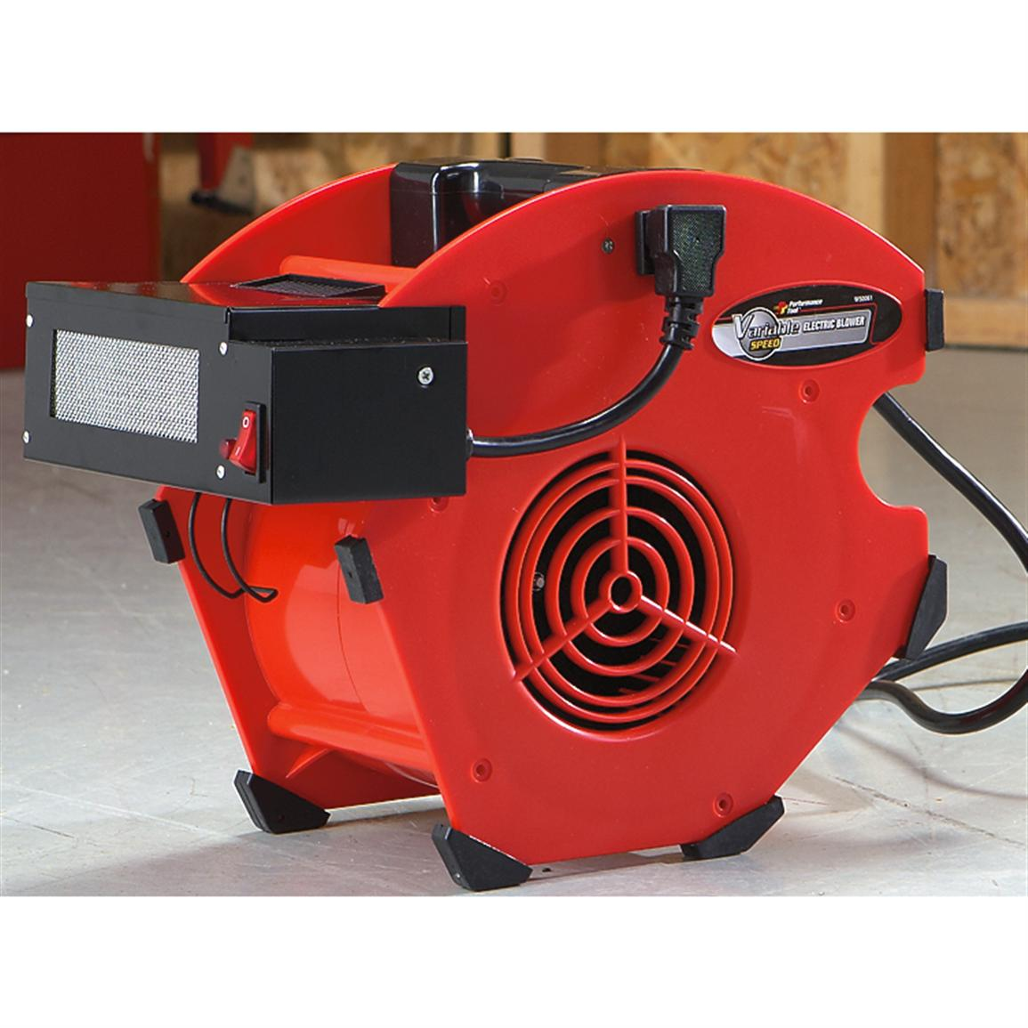 Portable Blower Fans : Performance tool portable blower  air