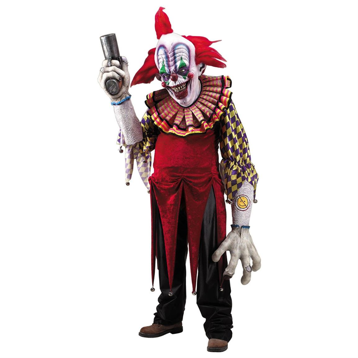 Adult Giggles the Clown Creature Reacher Costume