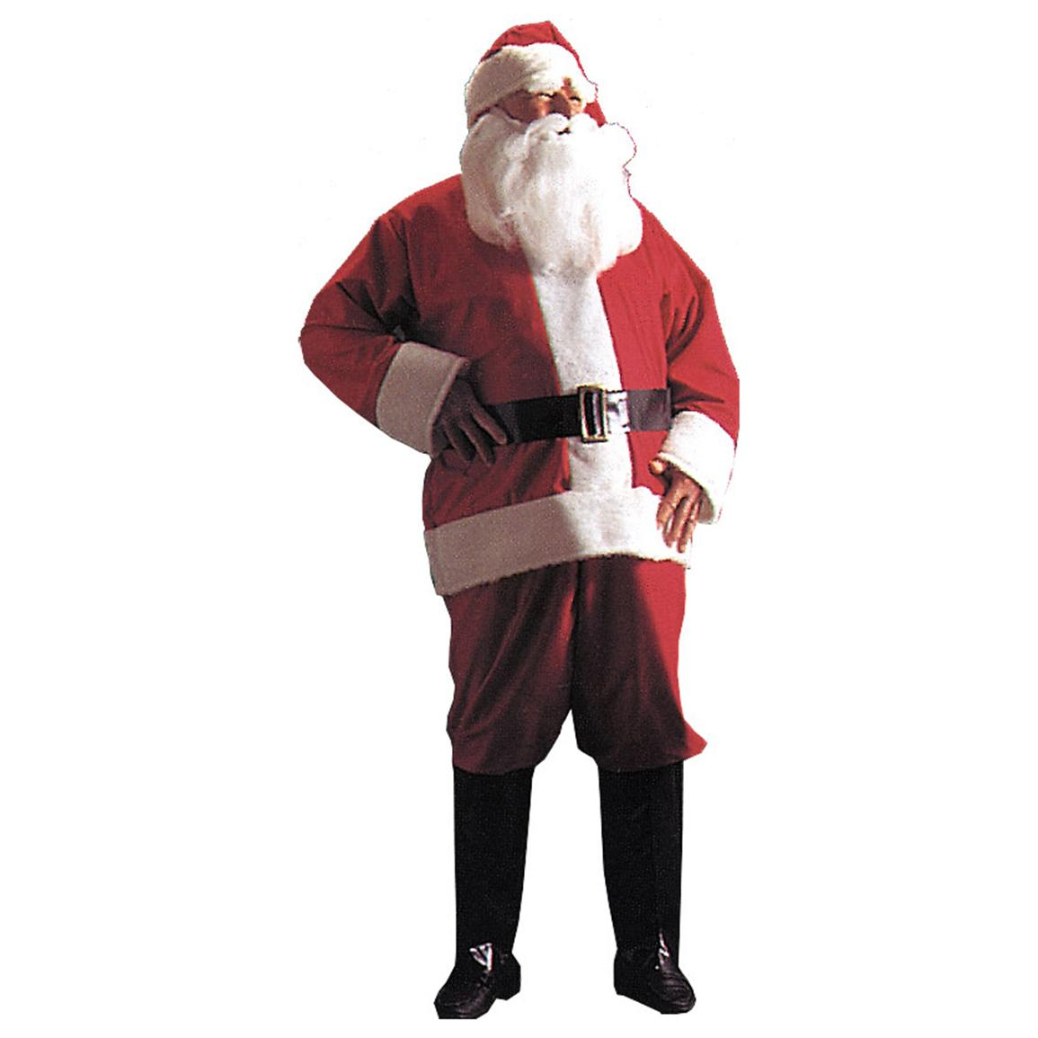 Morris Costumes Velour Santa Suit