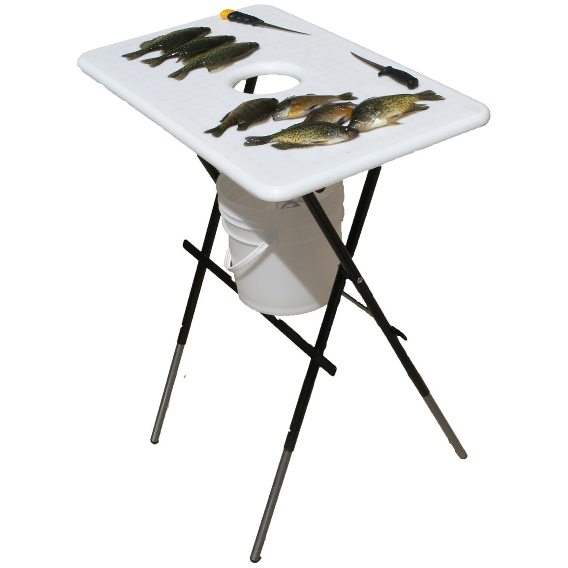 Clam Fish And Game Cleaning Table 194698 Ice Fishing