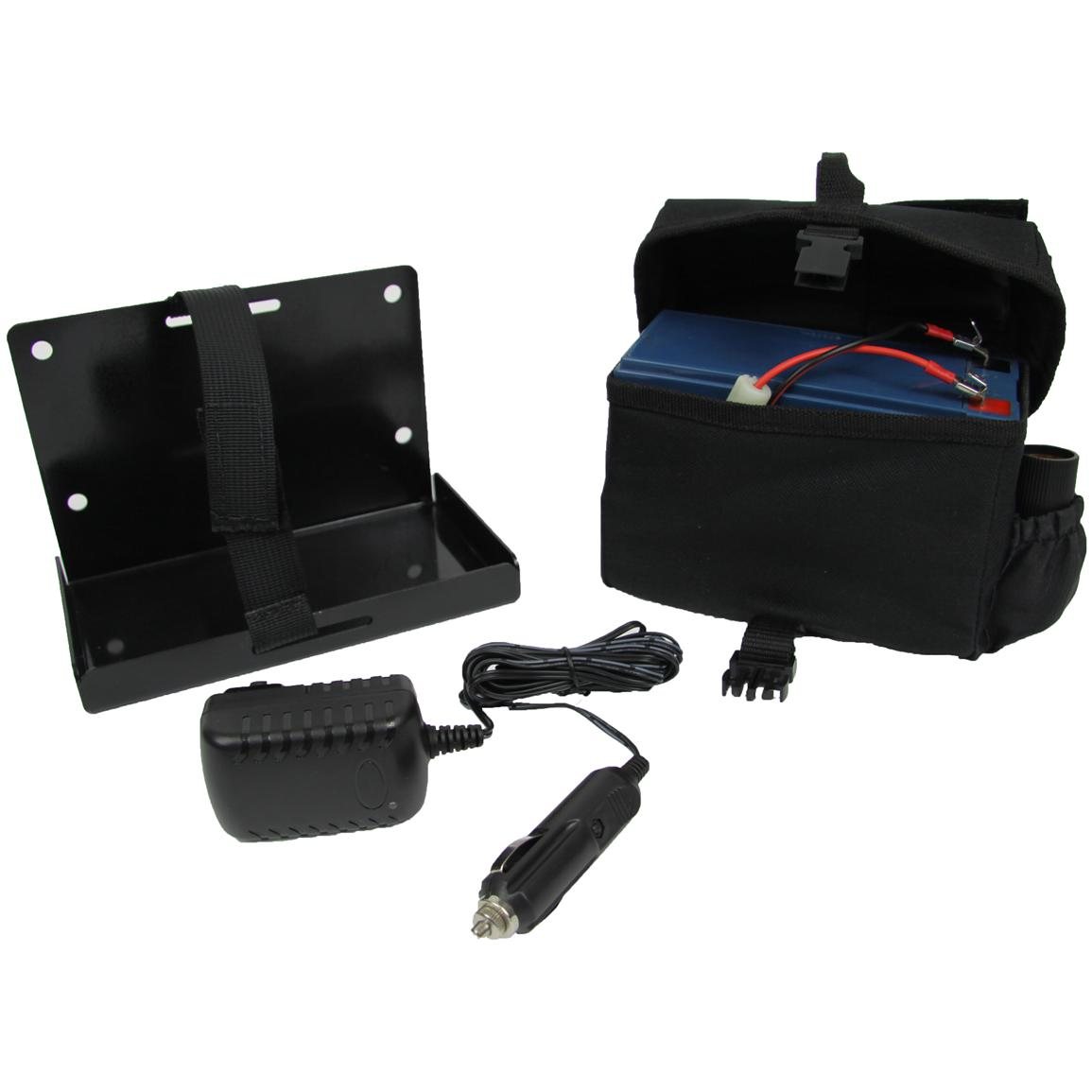 Clam™ Battery Bag with 8-Amp Battery and Charger
