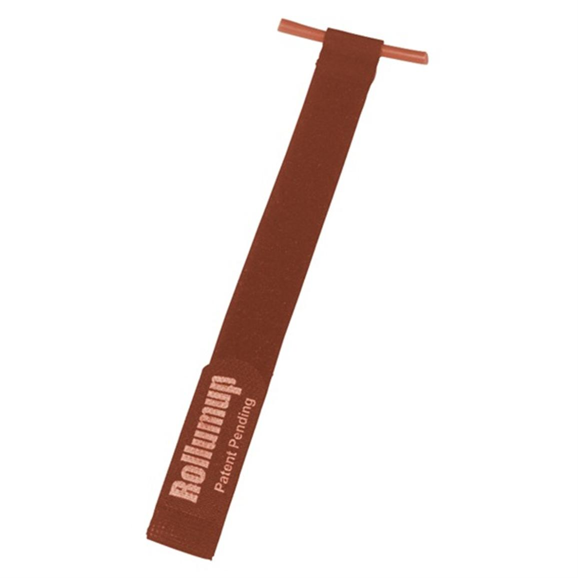 U Camp Products Burgundy RollumUp Party Light Holder, 7 - Pk.