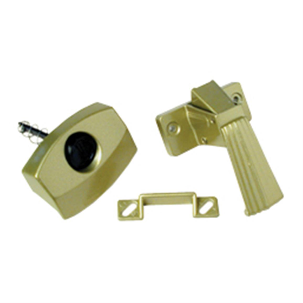 RV Designer® Collection Brass Door Latch