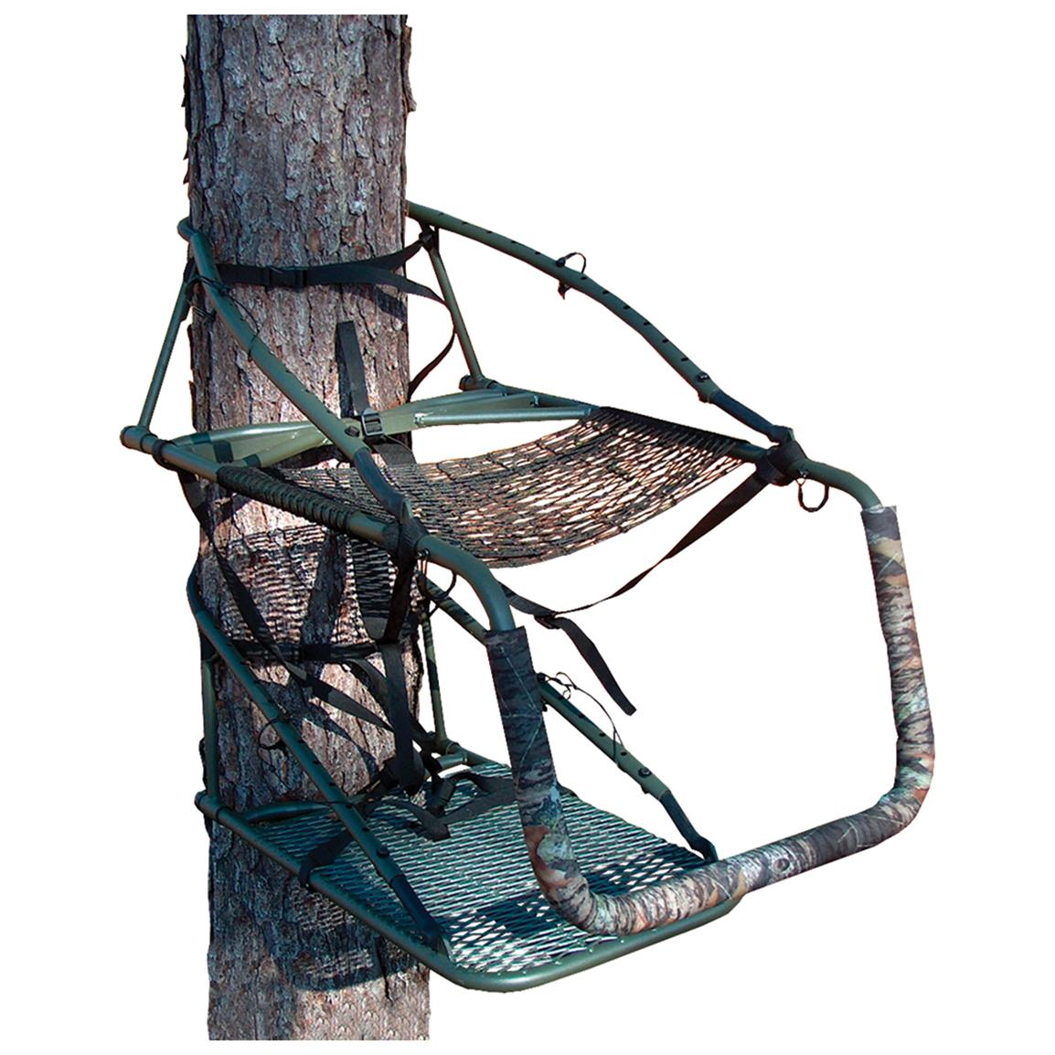 Ol' Man Outdoors® Aluminum Grand Multi - Vision Pro Climbing Tree Stand