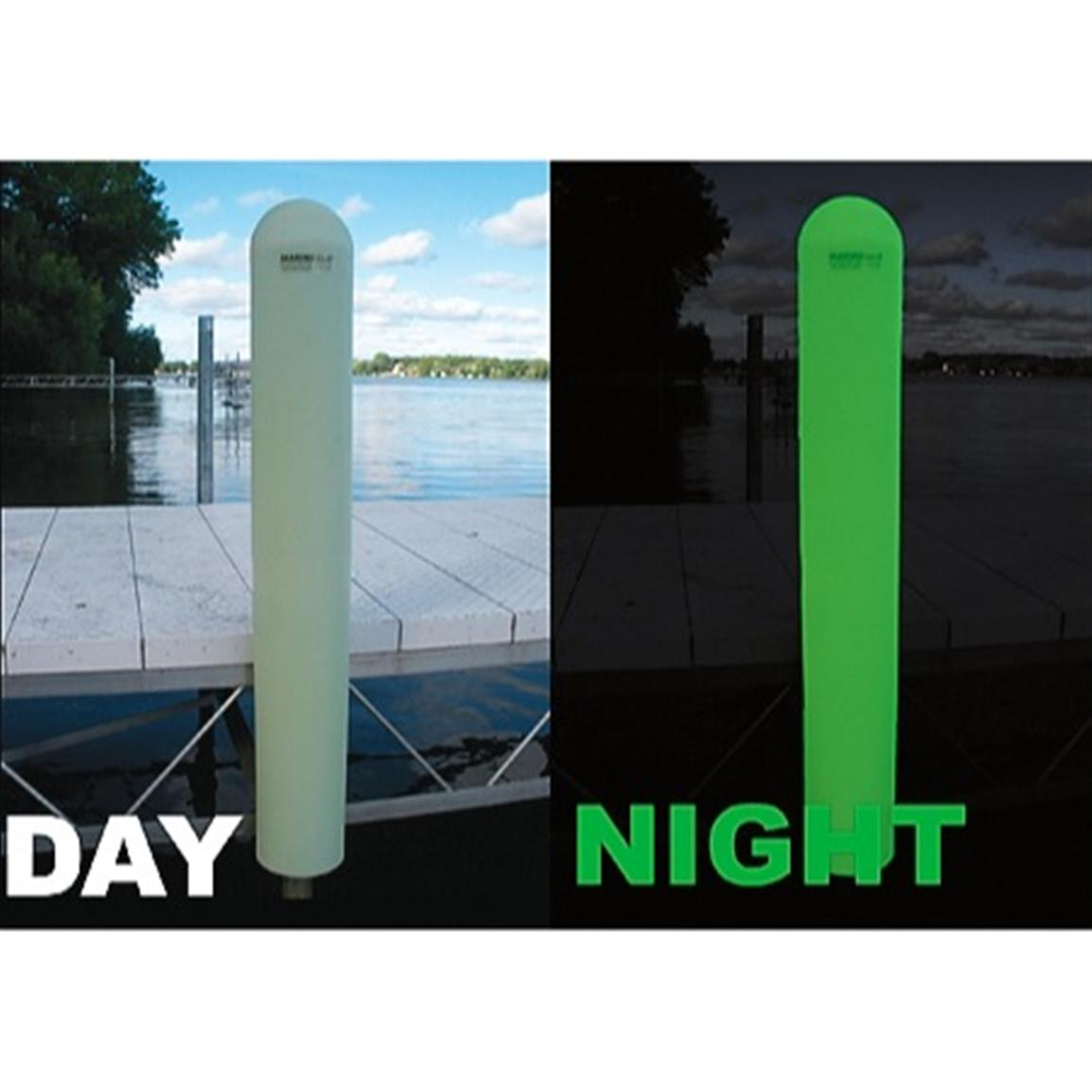 "MarineGlo® 6"" Round Post and Dock Bumper"