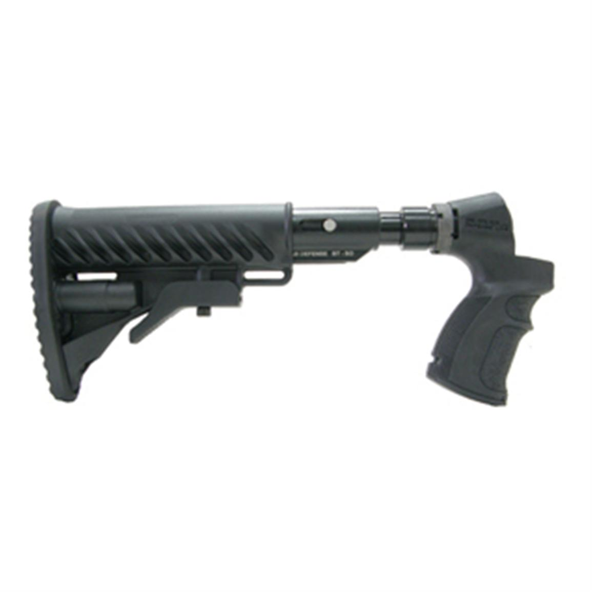 Mako® AR-15 / M4-style Collapsible Buttstock with Shock Absorber for Mossberg 500