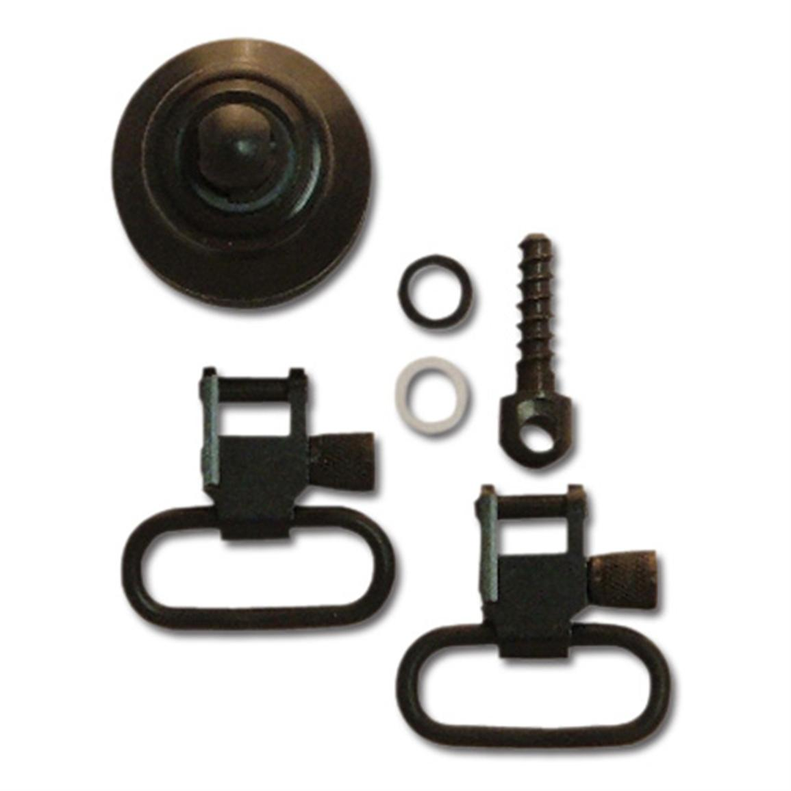 GrovTec™ 1 inch Sling Swivel Set for 12 Gauge Mossberg 590/835