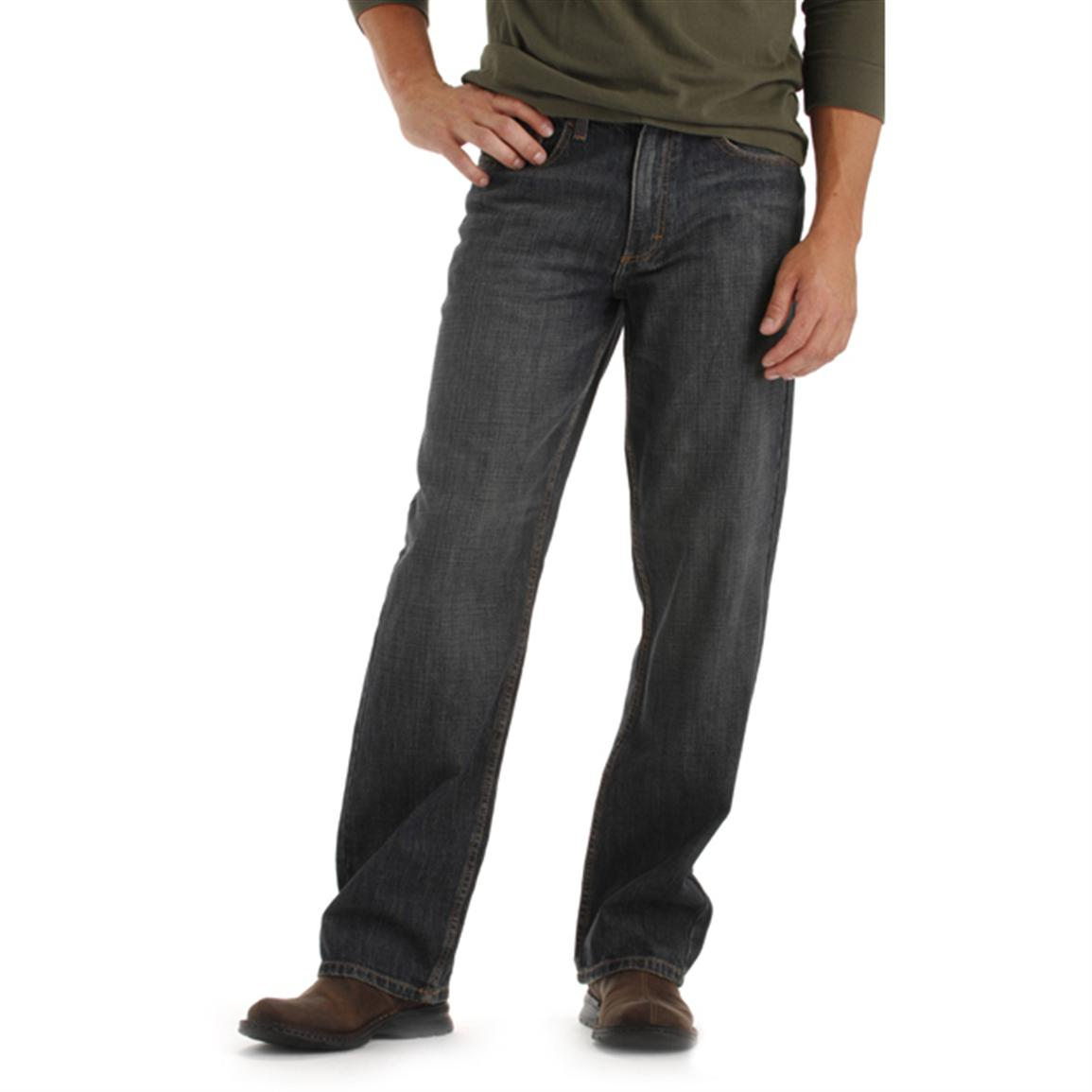 Lee® Relaxed Fit Straight Leg Jeans, Sanded Bronze