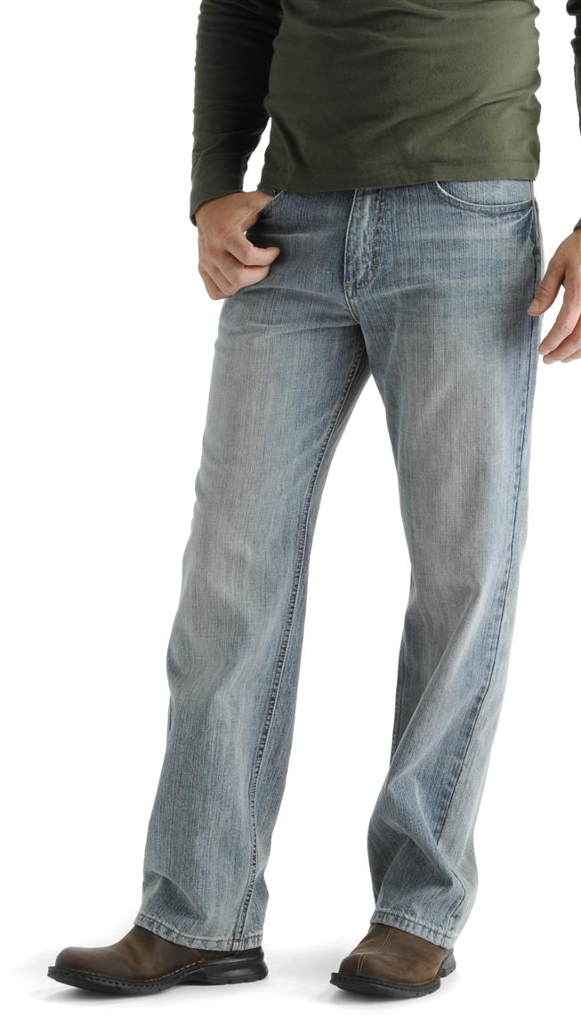Lee® Relaxed Fit Straight Leg Jeans, Faded Light
