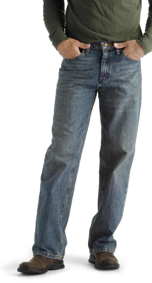 Lee® Relaxed Fit Straight Leg Jeans, Vintage Worn