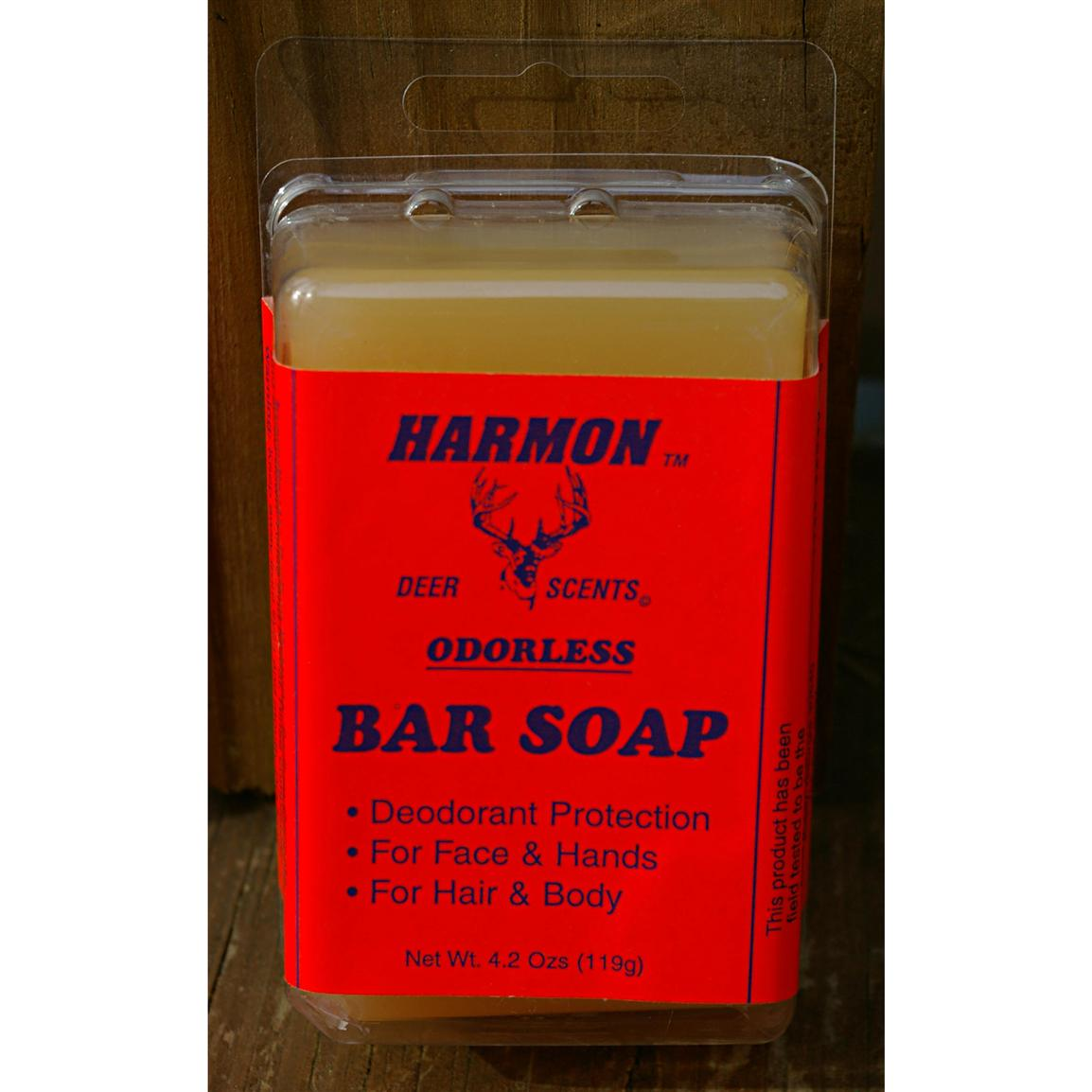 Harmon Scent Odorless Bar Soap