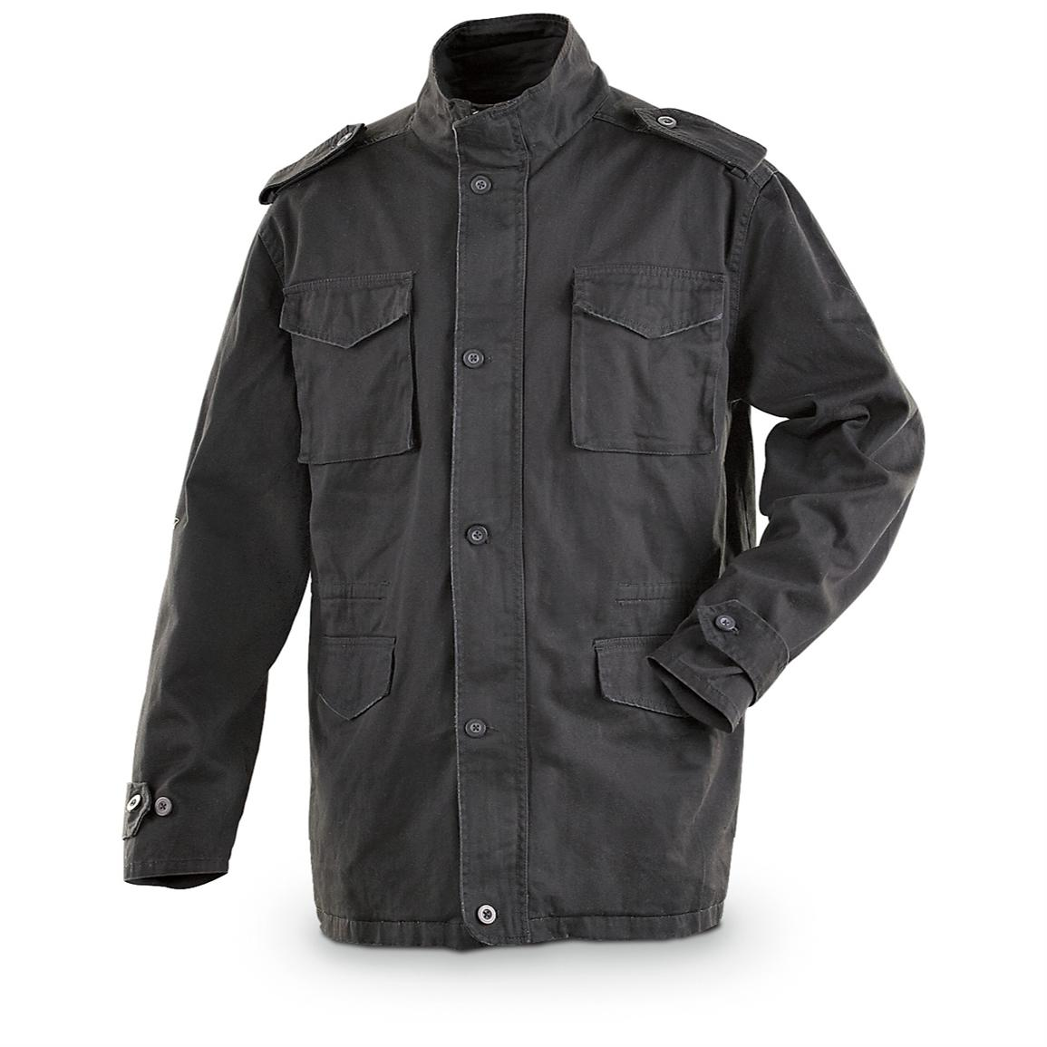 P.J. Mark® Distressed Recruit Military - style Jacket ...