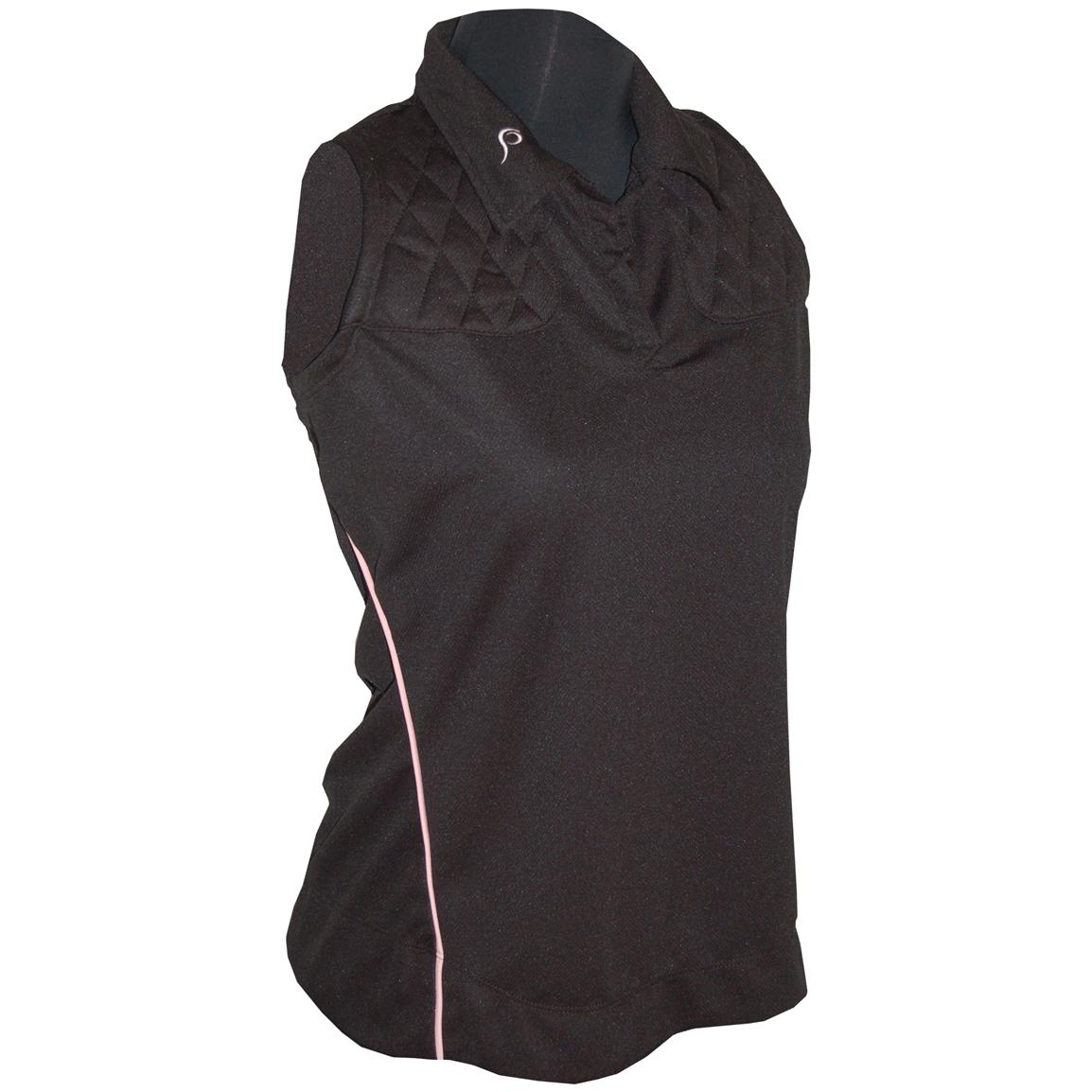 Women's Prois® Competitor Sleeveless Shooting Shirt, Black