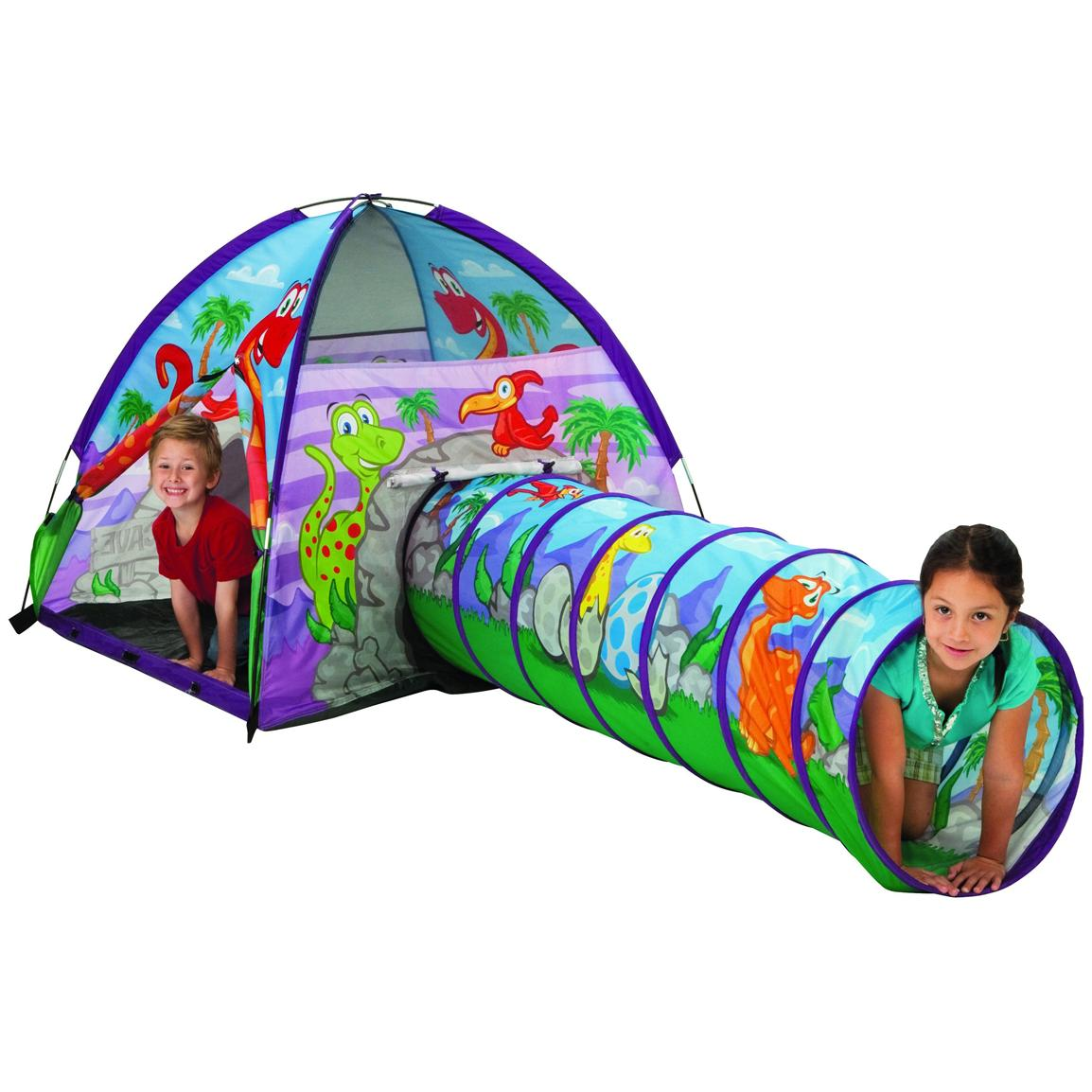 Pacific Play Tents® Dinosaur Tent and Tunnel Combo