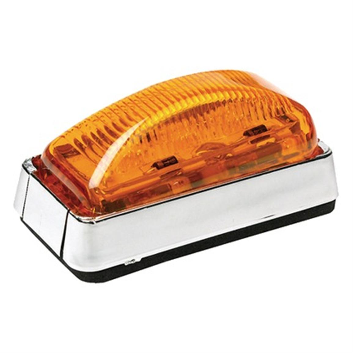 SeaChoice® Submersible LED Side Marker Light, Amber