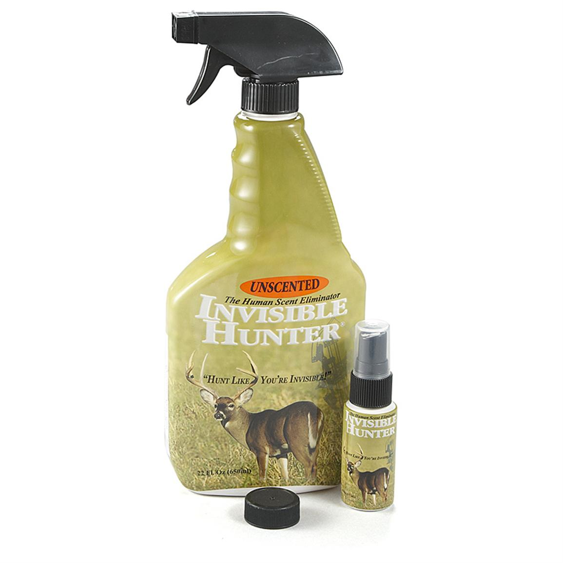 Invisible Hunter™ Fresh Earth Scent Elimination Spray Combo