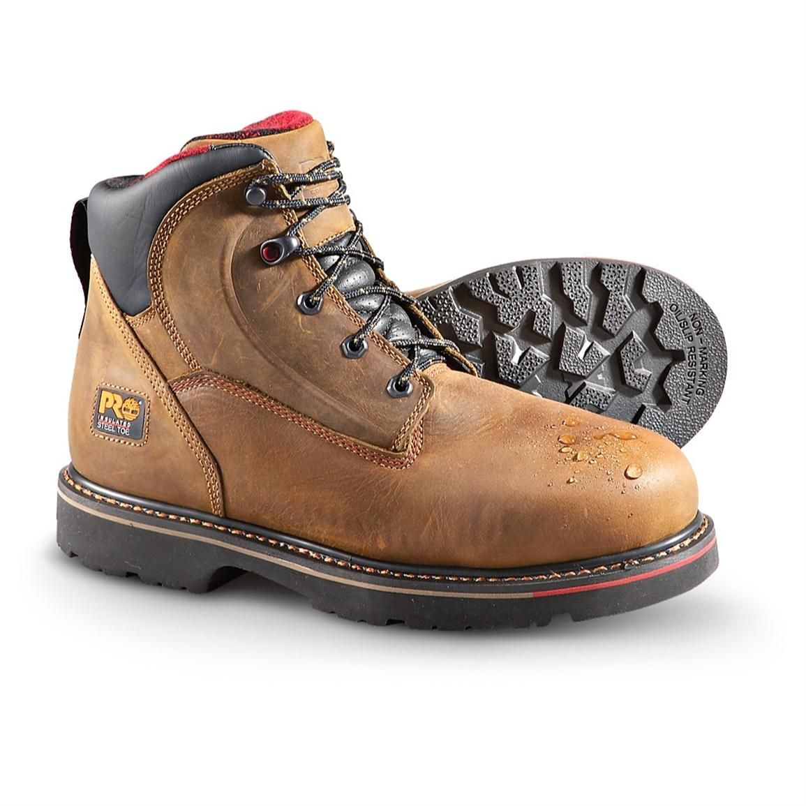Womens Steel Toe Work Boots Timberland 54