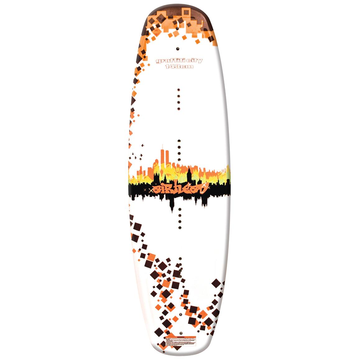 Airhead® Graffiti City Wakeboard with Clutch Binding
