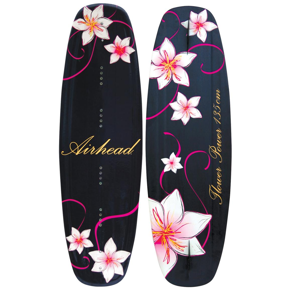 Airhead® Flower Power Wakeboard with Grind Binding