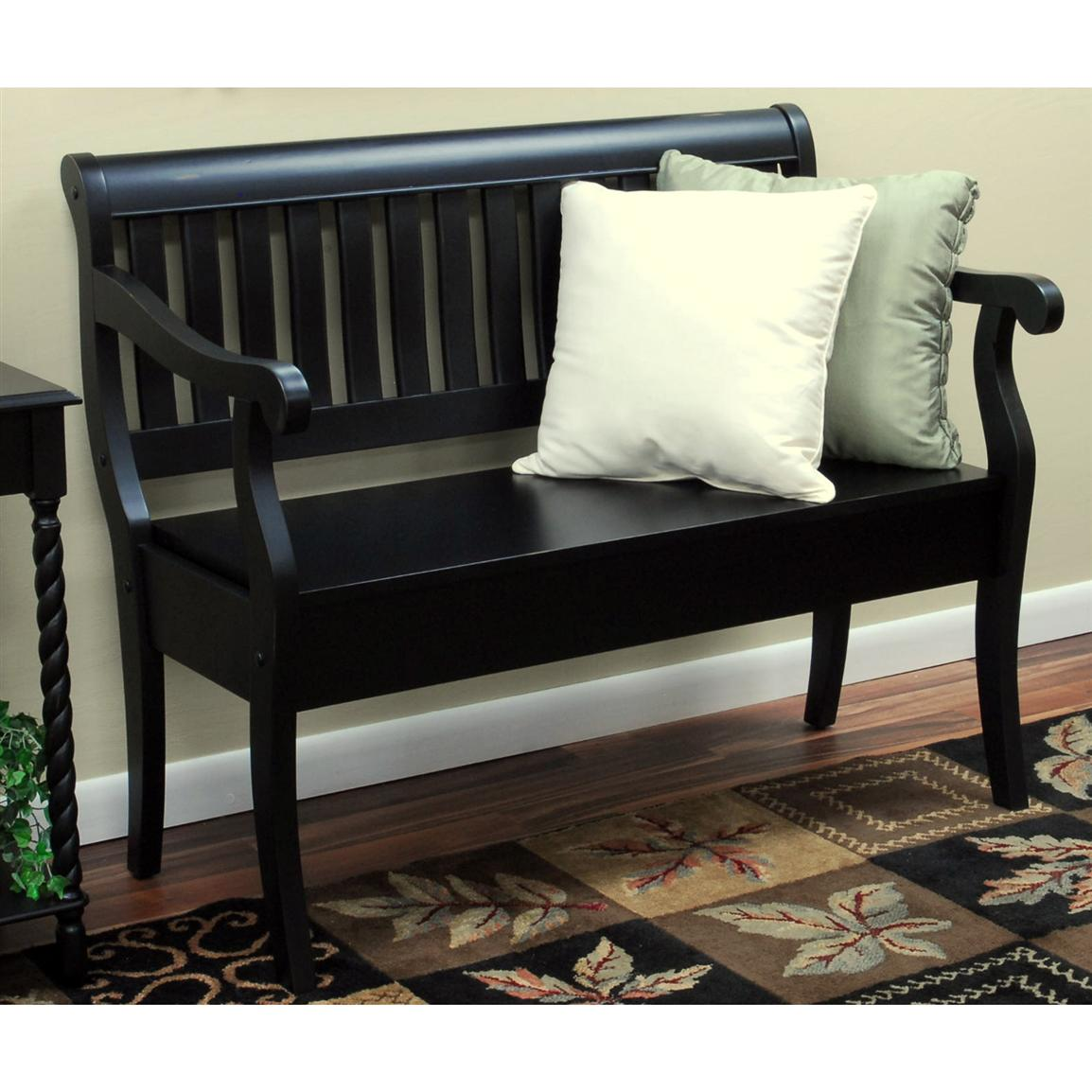 Carolina Chair & Table Co. Kylie Storage Bench
