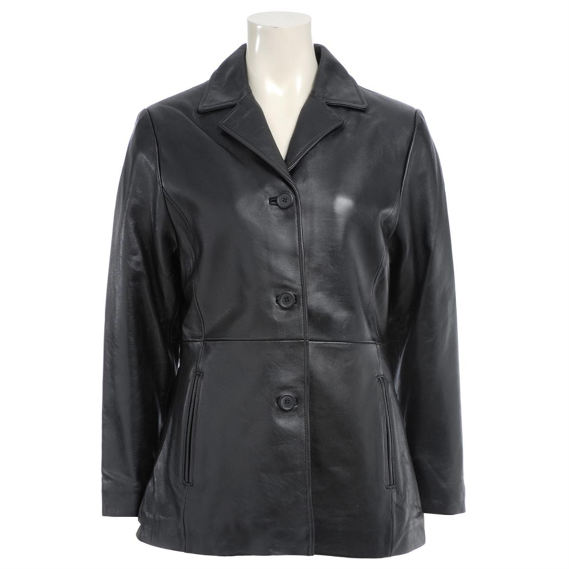 Women's Excelled® New Zealand Lambskin Blazer
