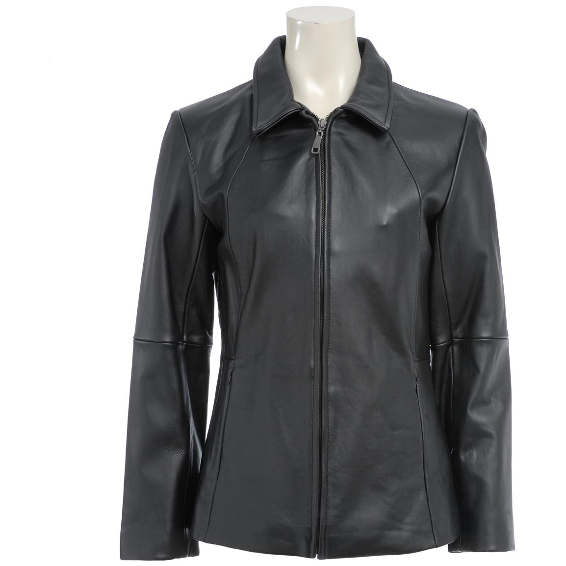 Women's Excelled® Leather Scuba Jacket