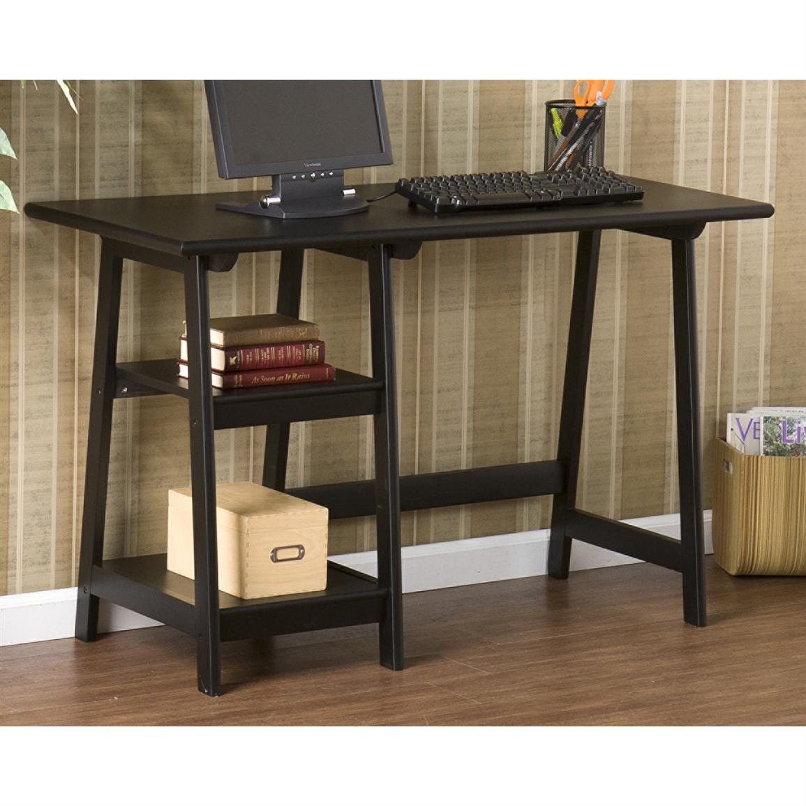 Southern Enterprises, Inc. Langston Desk, Black