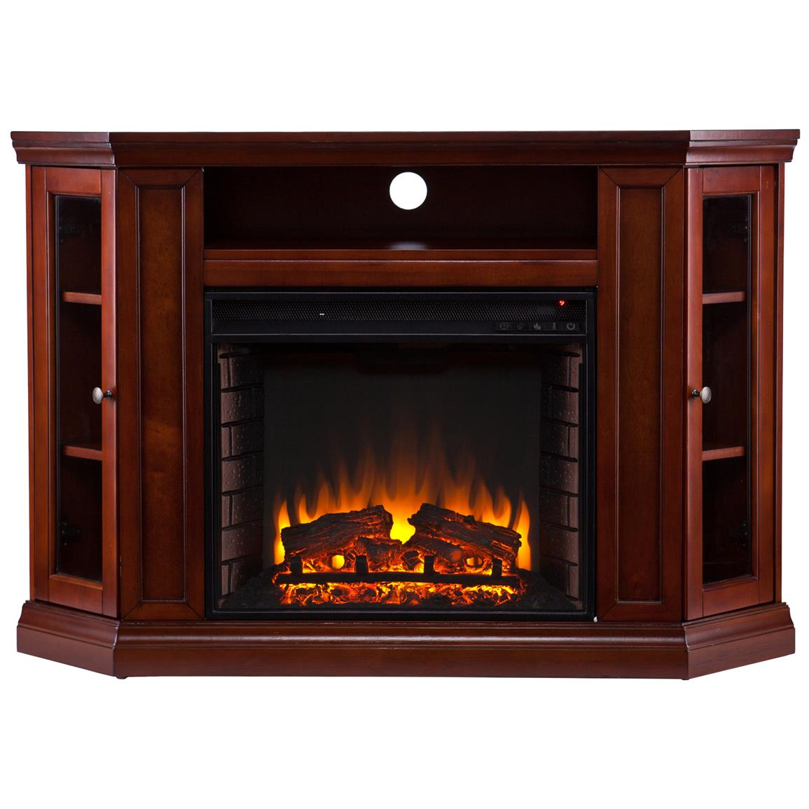 Holly & Martin™ Ponoma Convertible Media Electric Fireplace